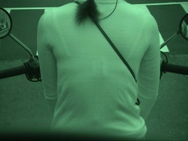赤外線カメラの威力が半端ない!スケスケおっぱいや下着の街撮りエロ画像 1219