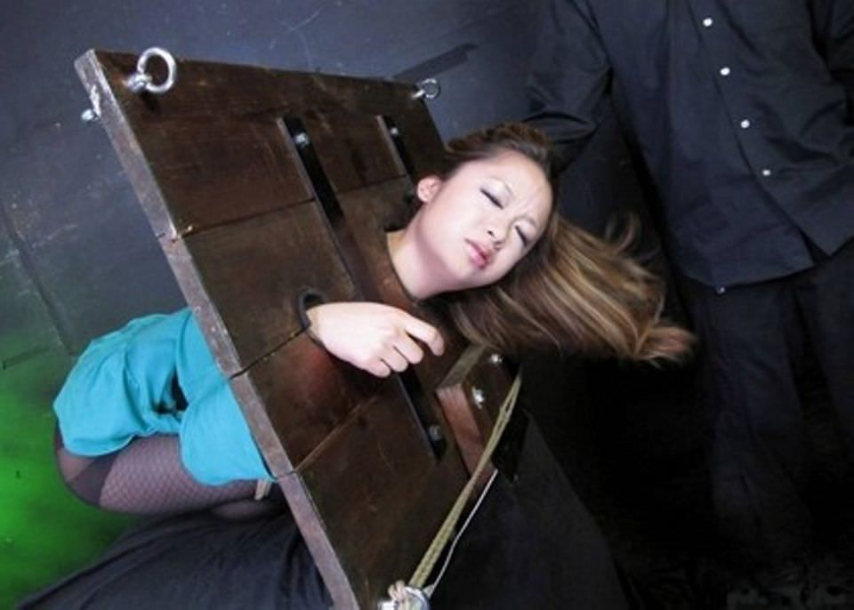 あらゆる拷問でドM女を調教してるSMエロ画像 1453