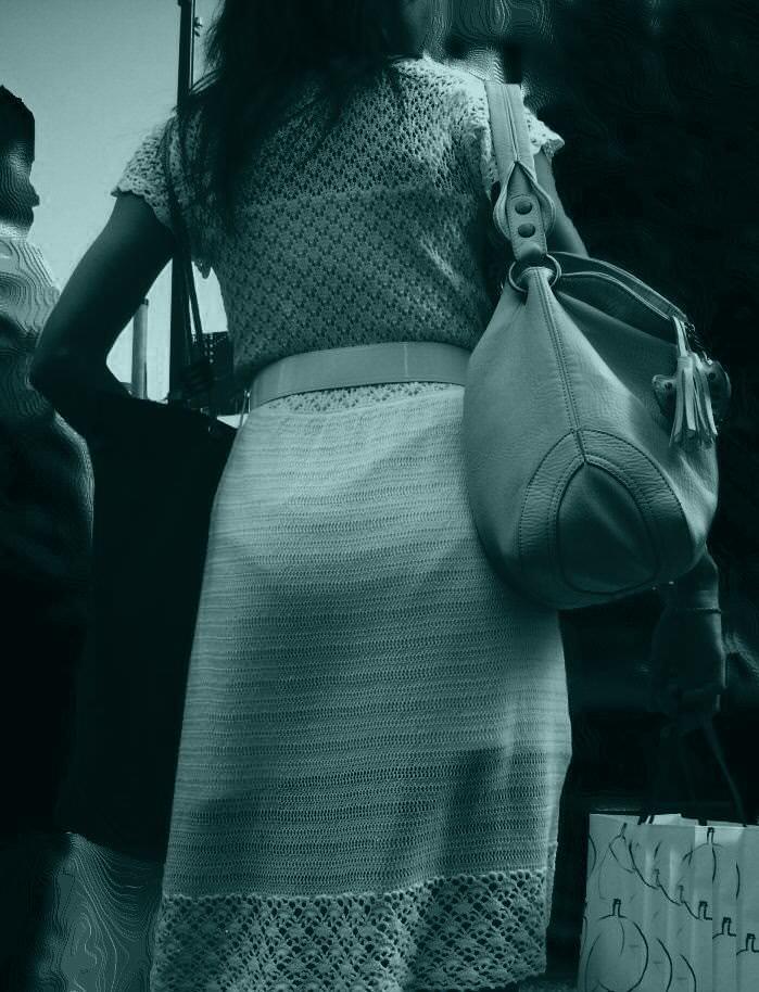 赤外線カメラの威力が半端ない!スケスケおっぱいや下着の街撮りエロ画像 1518