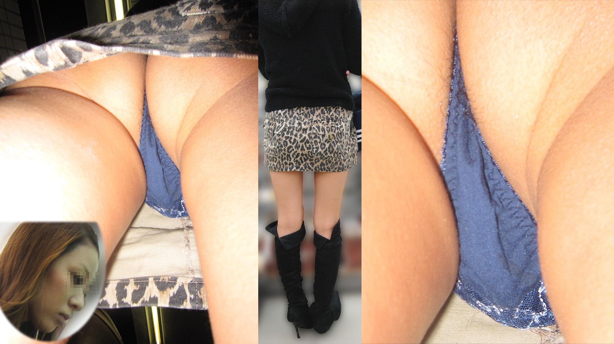 Tバックとかいうエロい下着を履いた素人女性www逆さ撮りパンチラこっそり撮影wwwwwww 1521 1