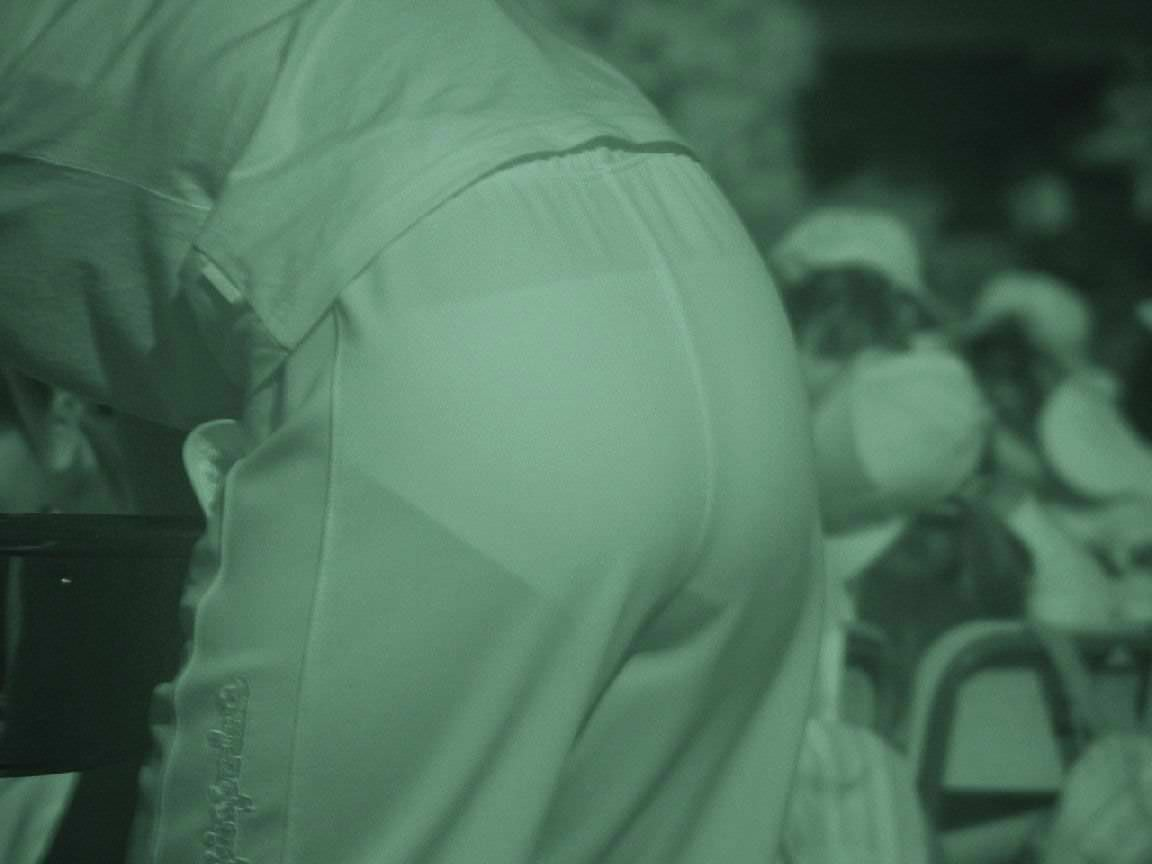 赤外線カメラの威力が半端ない!スケスケおっぱいや下着の街撮りエロ画像 3110
