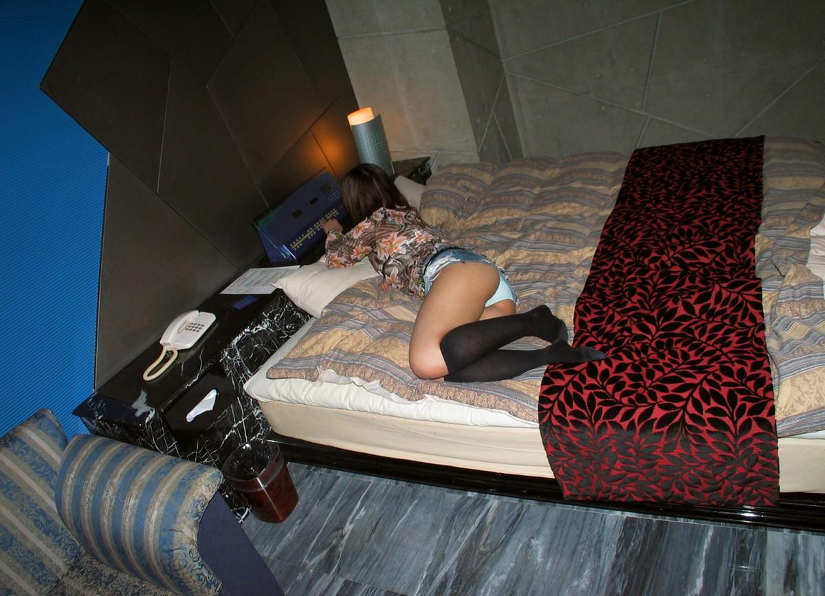 ヤリマンで慣れすぎてる出会い系の女をセクロス前に撮影したエロ画像 294