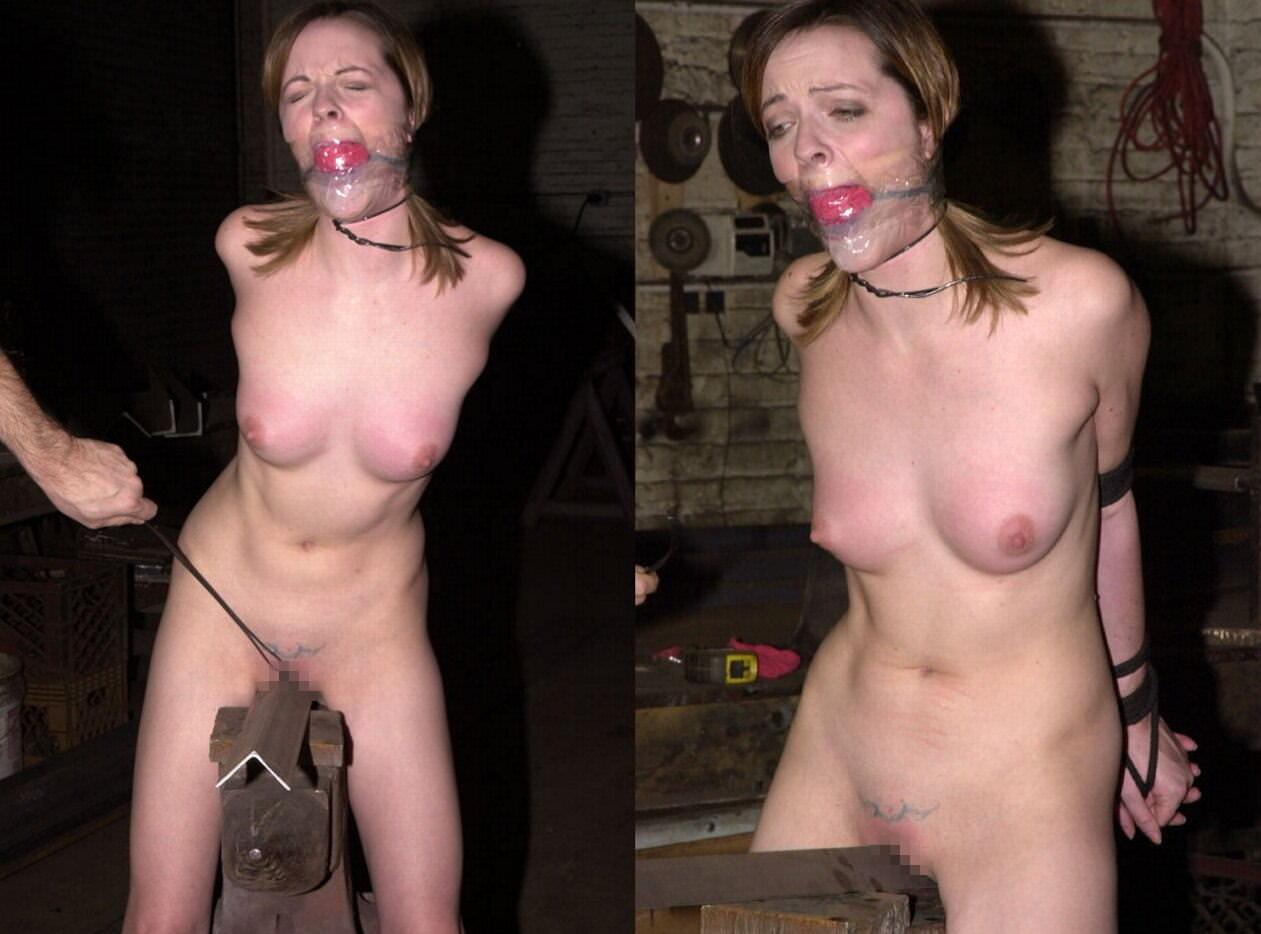三角木馬で調教されてる美女がガチ絶叫wwwwの拷問SMエロ画像 1285