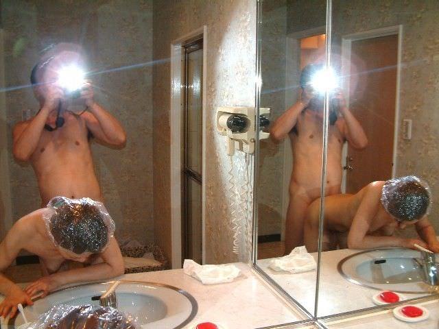 マンコにタコが出来る!!セックス経験の豊富な熟女www鏡越しのハメ撮りなんて余裕っすwwwwww 13219