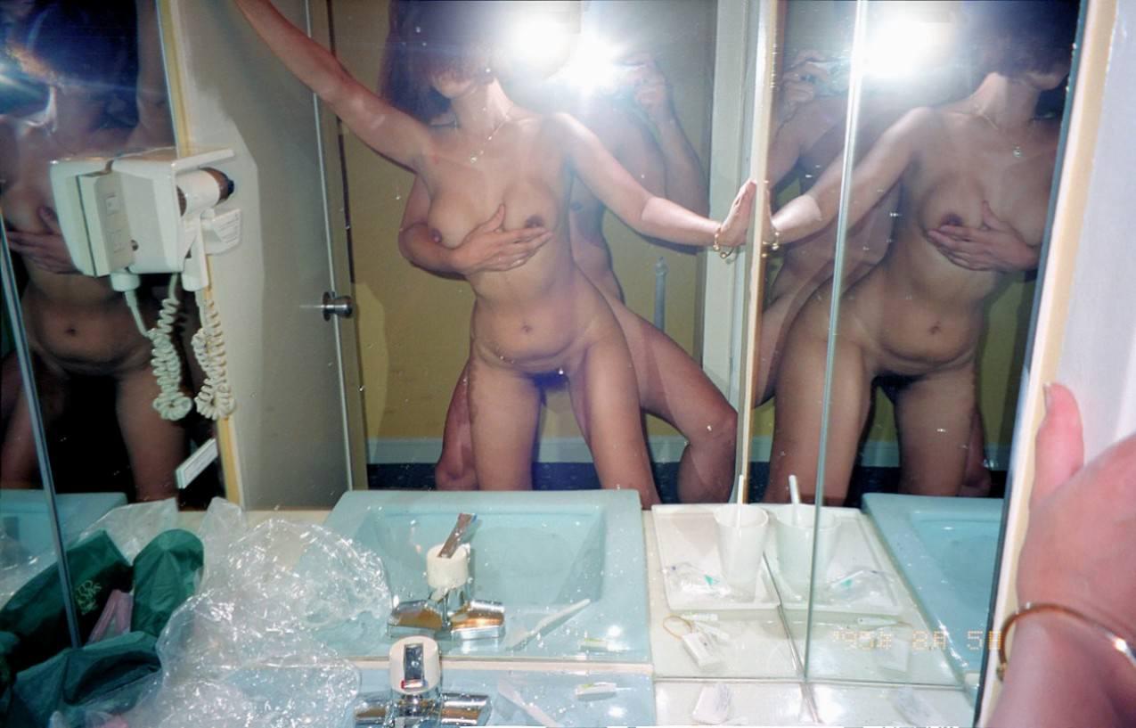 マンコにタコが出来る!!セックス経験の豊富な熟女www鏡越しのハメ撮りなんて余裕っすwwwwww 13228