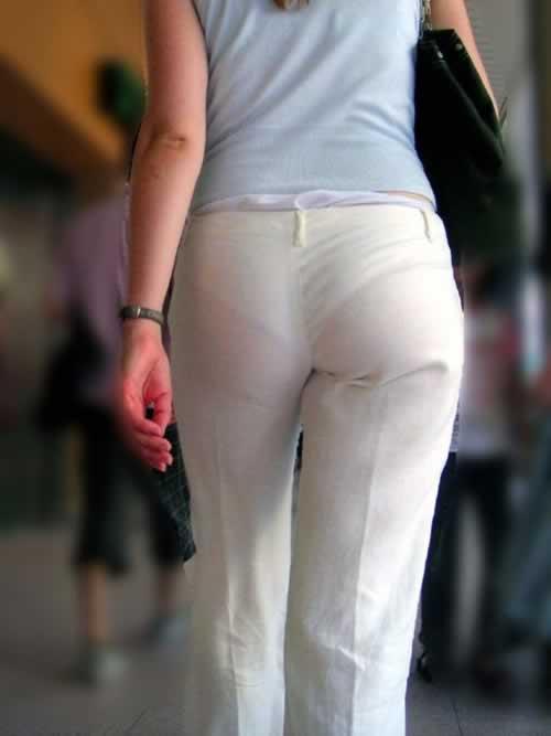 素人のエッチなお尻とパンツが透けてるwwww街撮りエロ画像 1745