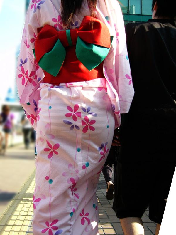 夏祭りに浴衣で来てる素人女子のお尻が清楚で可愛い過ぎるwwwww街撮りエロ画像 2180