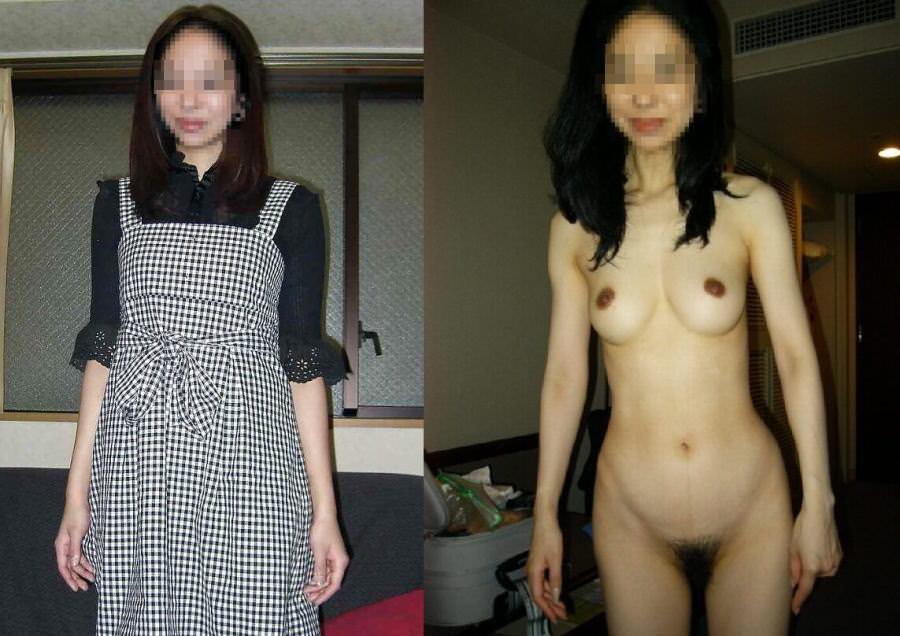 清楚な顔した素人の女の子が脱いでスッポンポンになった結果wwwwエロ画像 2240