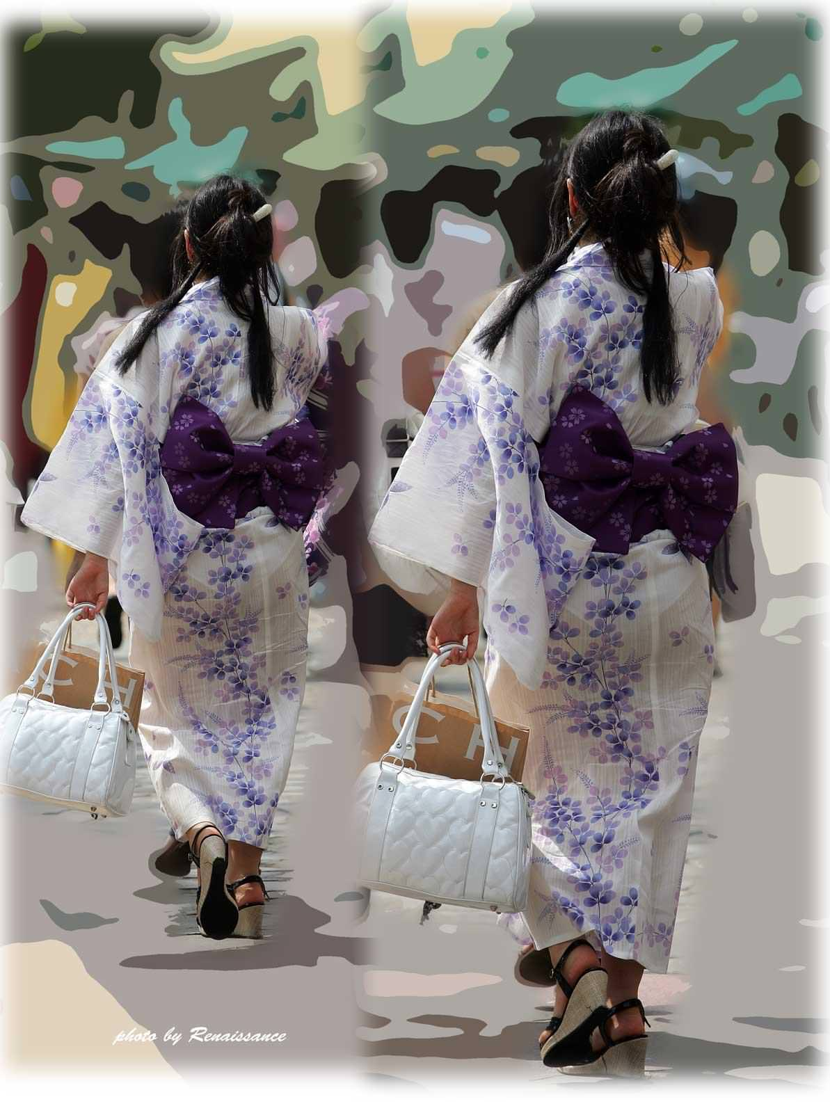 夏祭りに浴衣で来てる素人女子のお尻が清楚で可愛い過ぎるwwwww街撮りエロ画像 573