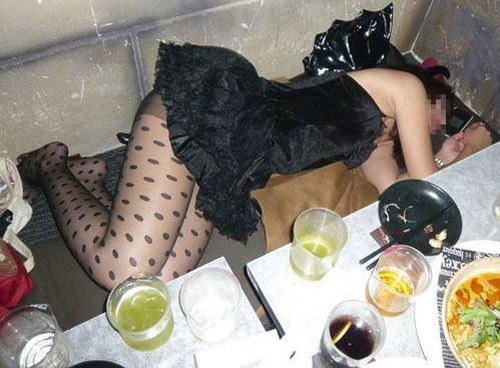 秘密裏に撮影されたとおぼしき素人の泥酔画像wwwwwww 13269