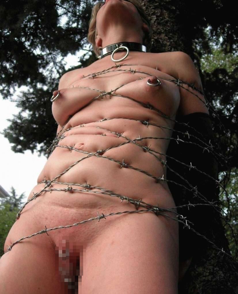 ドM女の拷問されてる姿が痛々しいwwwSMエロ画像 1226