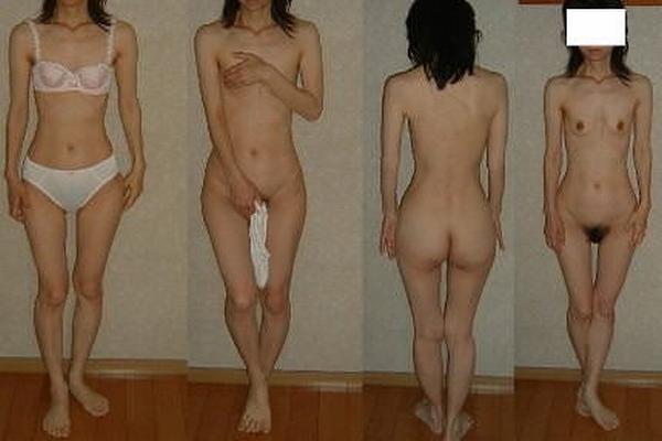 痩せたい願望の女子がダイエットし過ぎた結果wwww細すぎ素人エロ画像 2326