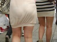 ちょっとスカートが短すぎる気がする素人さんを盗撮www