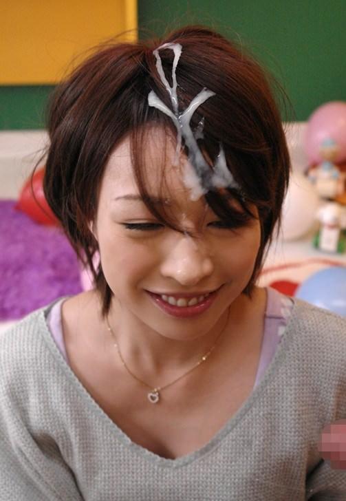 女の大切な髪に問答無用でザーメンぶっかけたったwwwエロ画像 1331