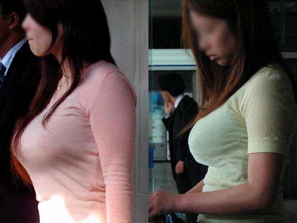 今にも弾けそうな超ボイン着衣おっぱいしてる素人お姉さんの街撮りエロ画像 0114