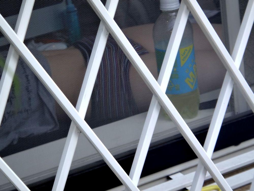 窓際で油断した女達www下着姿や裸を盗撮した流出エロ画像 1316