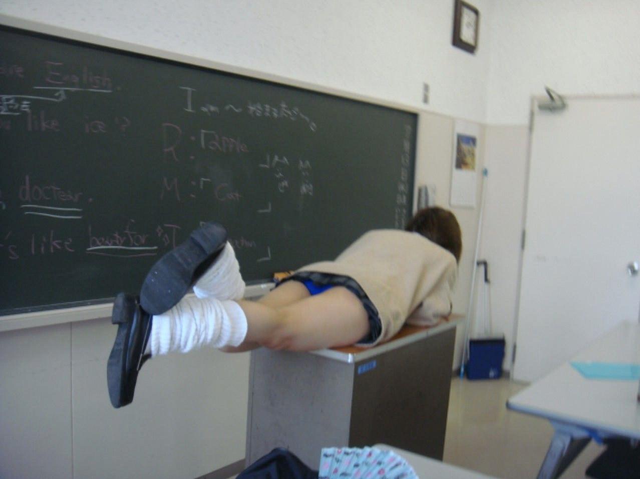 女子校生がパンチラでハーパン履いてたエロ画像 2234
