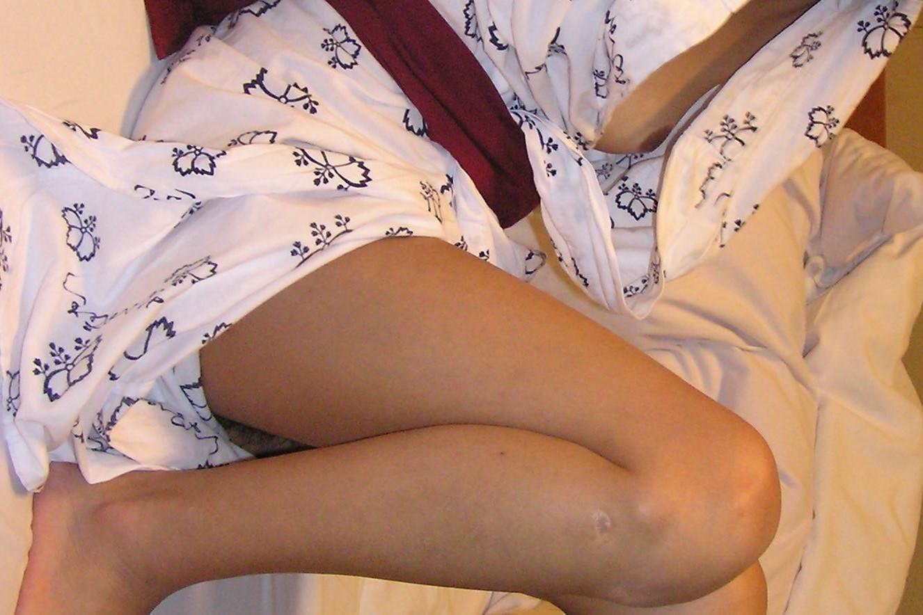 彼女と初めてのお泊り温泉旅行で早速エッチな浴衣姿を撮影www素人投稿エロ画像 287