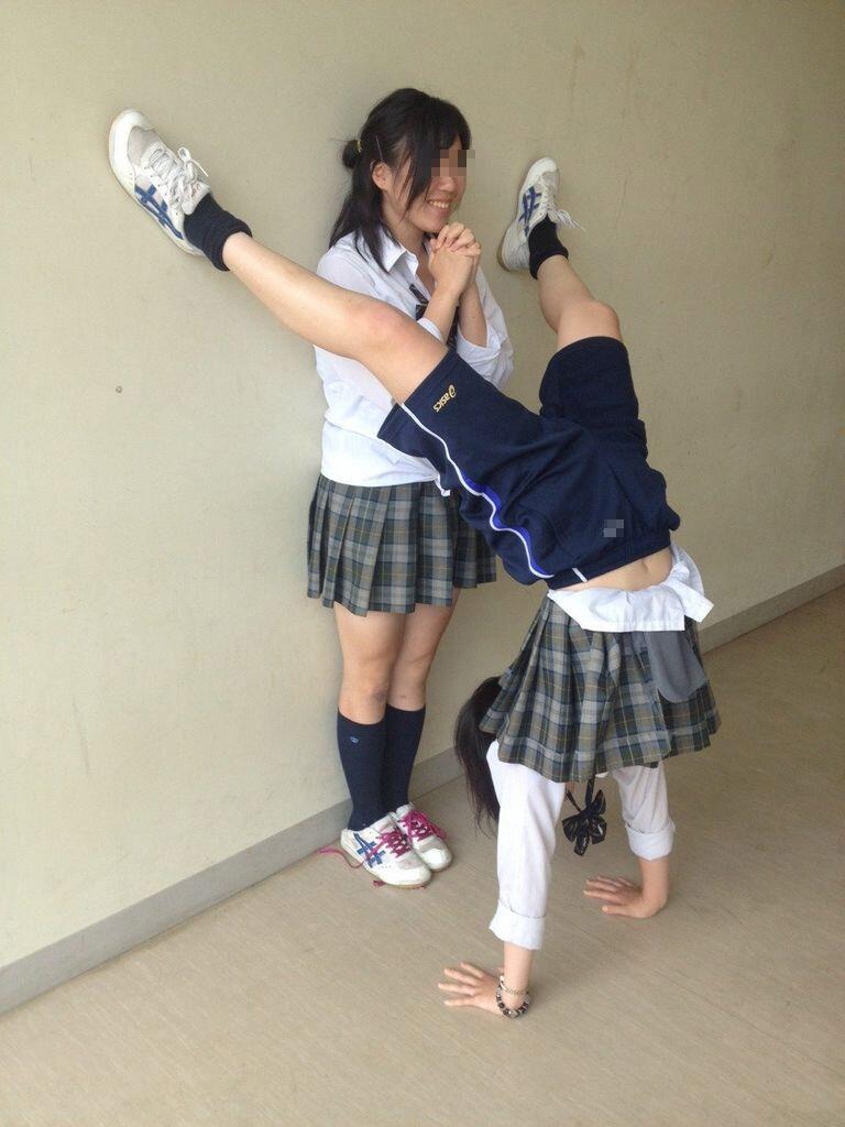 女子校生がパンチラでハーパン履いてたエロ画像 3315