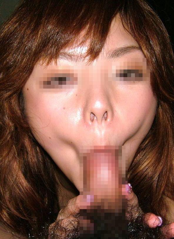 素人エロ娘がおっきなチンコを鯉みたいにパクパクwwwwフェラエロ画像 35