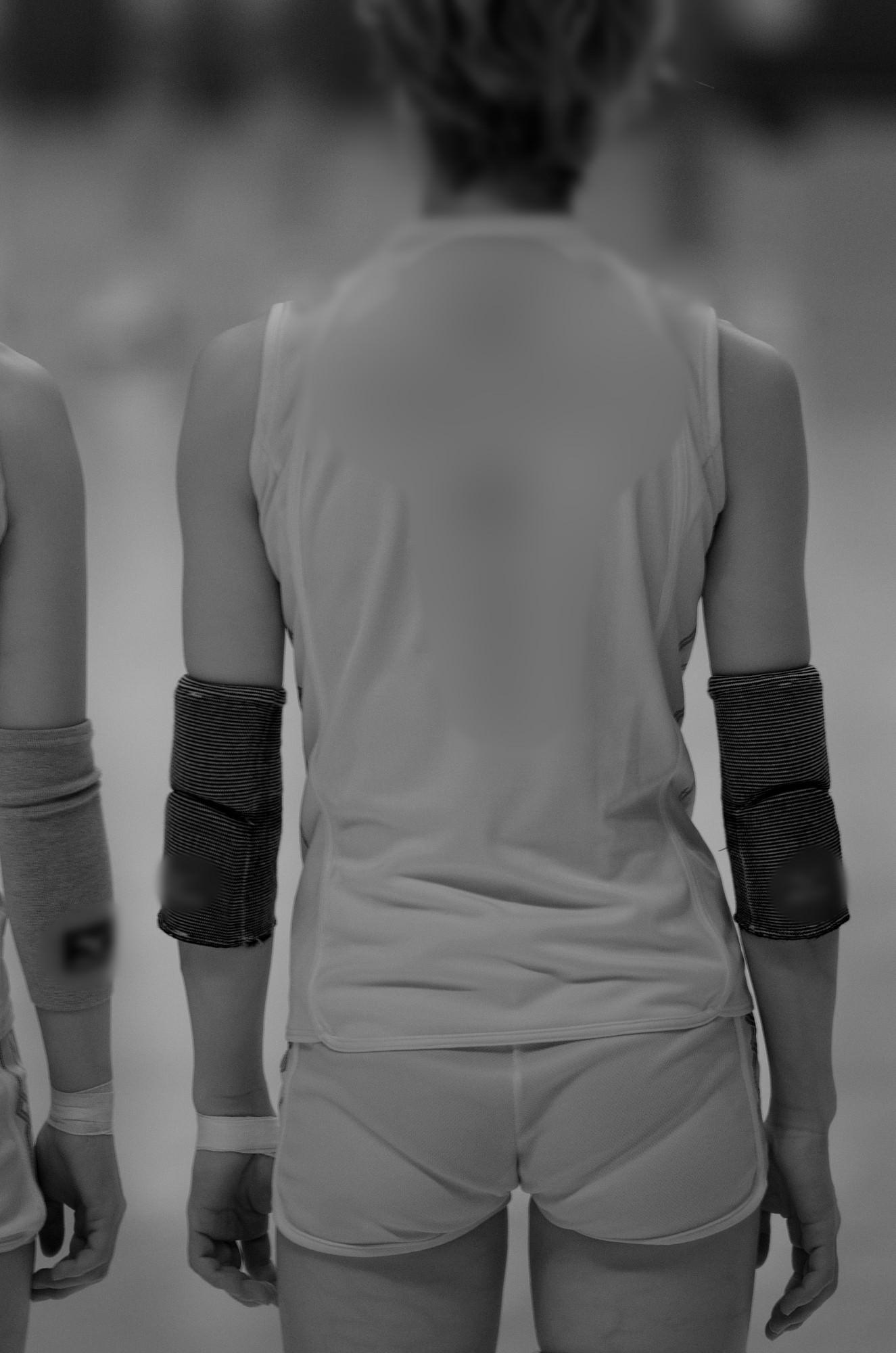 赤外線カメラ半端ない!!女子バレー選手のパンツとブラが透けまくってるスポーツ系エロ画像 1827