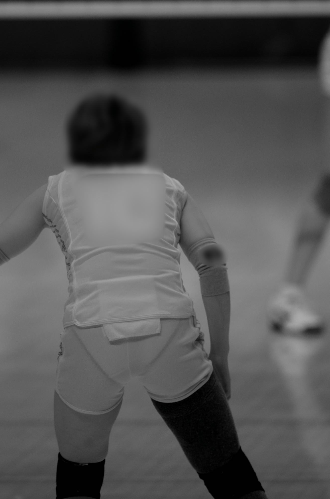 赤外線カメラ半端ない!!女子バレー選手のパンツとブラが透けまくってるスポーツ系エロ画像 1926