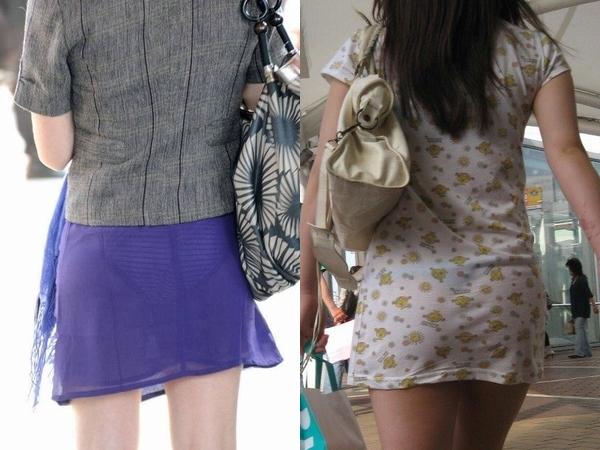 色物柄物でもパンティーが透けてる素人娘は沢山いるwww街取り盗撮www 2200thumb
