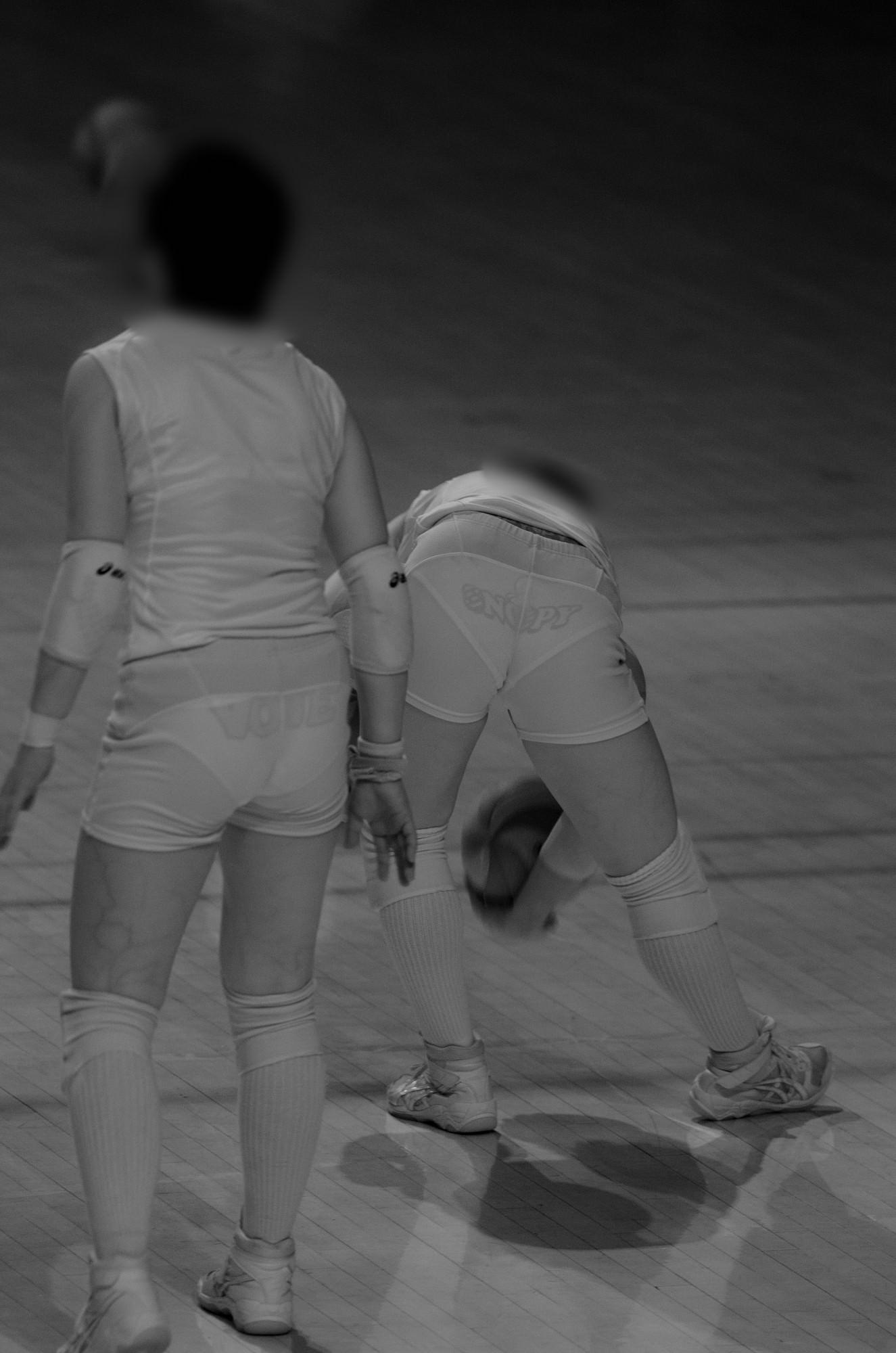 赤外線カメラ半端ない!!女子バレー選手のパンツとブラが透けまくってるスポーツ系エロ画像 2224