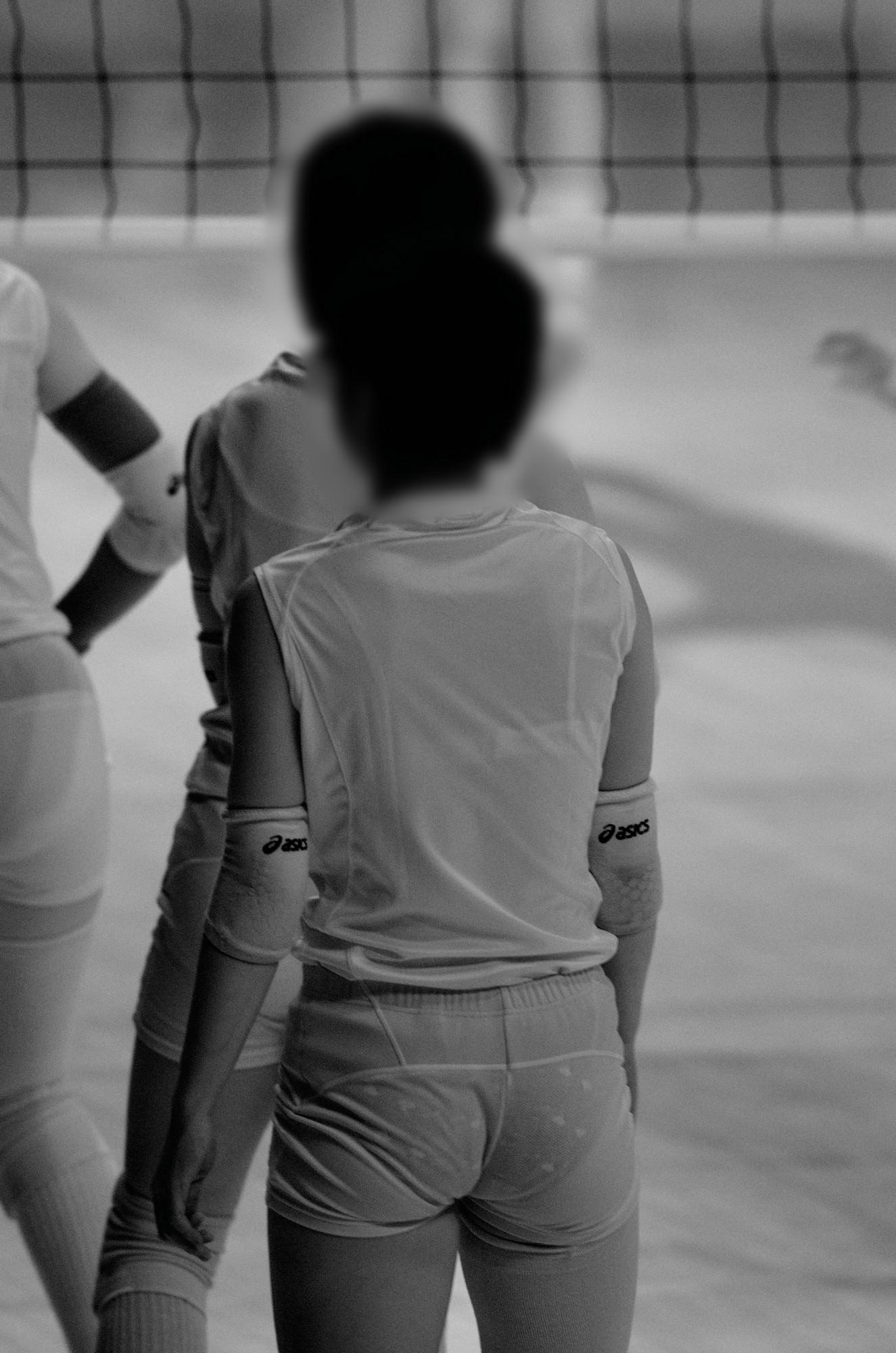 赤外線カメラ半端ない!!女子バレー選手のパンツとブラが透けまくってるスポーツ系エロ画像 2622