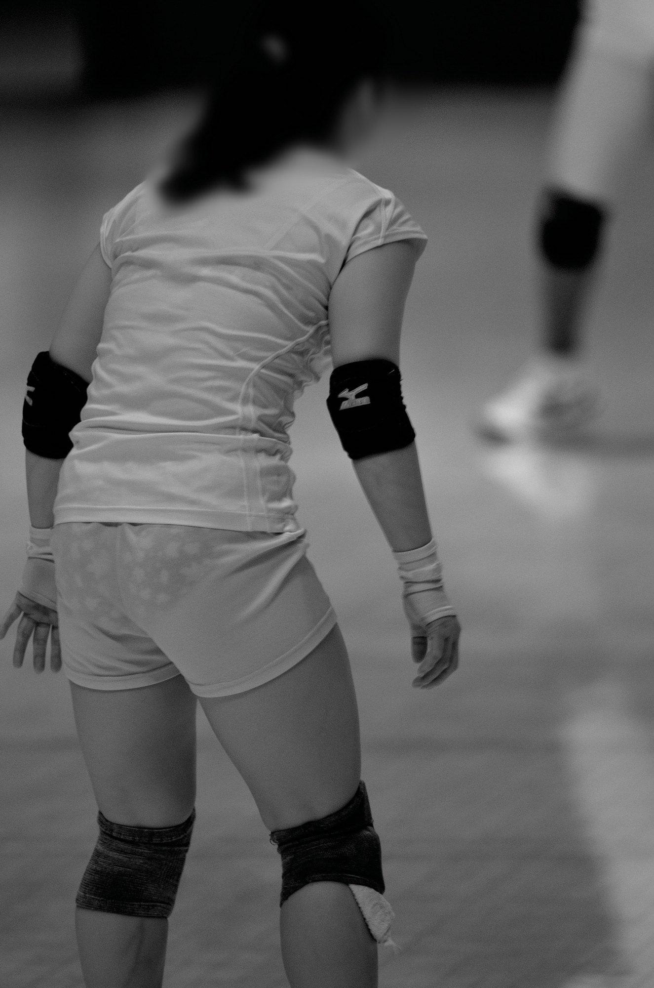 赤外線カメラ半端ない!!女子バレー選手のパンツとブラが透けまくってるスポーツ系エロ画像 2820
