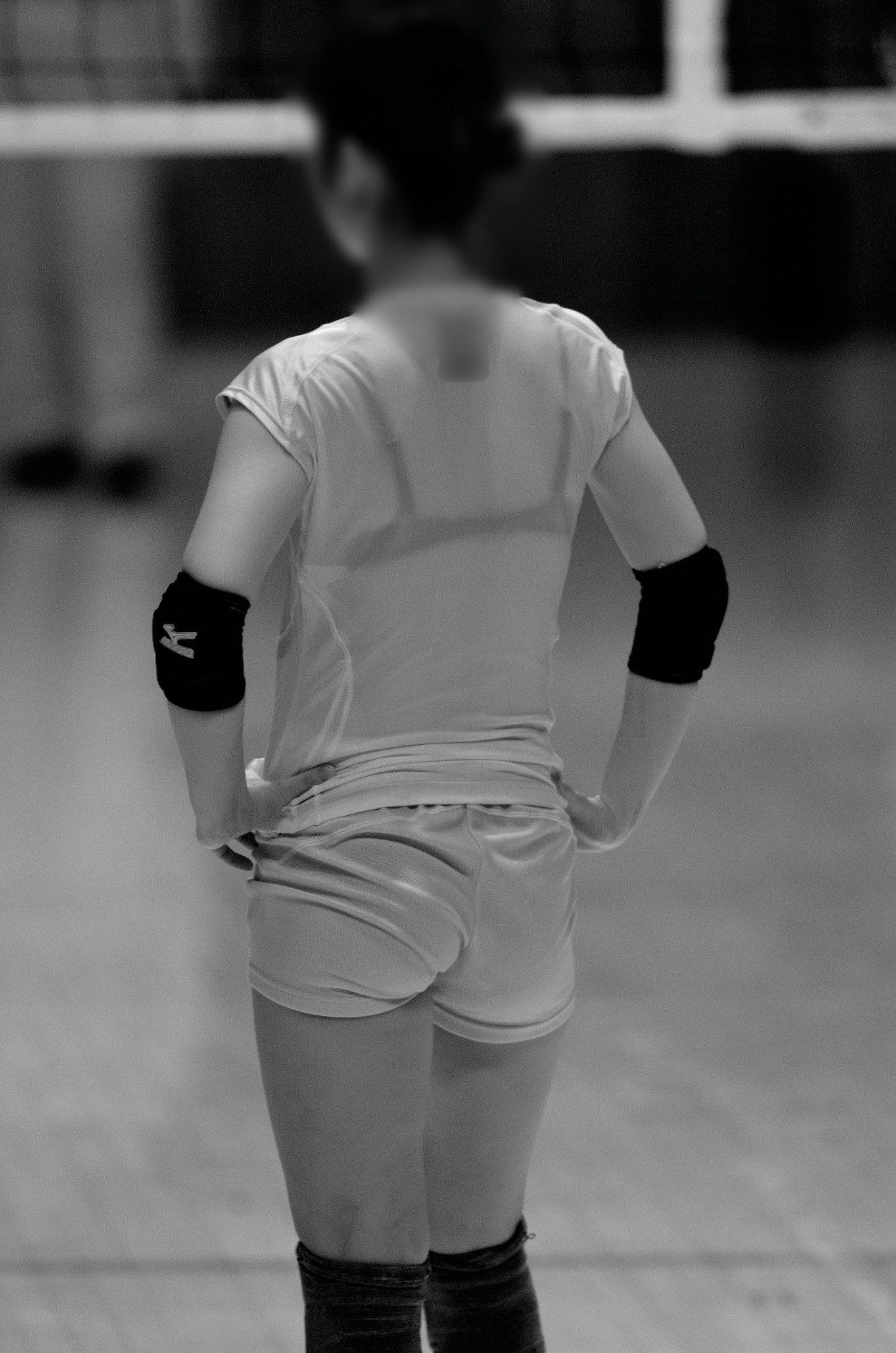 赤外線カメラ半端ない!!女子バレー選手のパンツとブラが透けまくってるスポーツ系エロ画像 3221