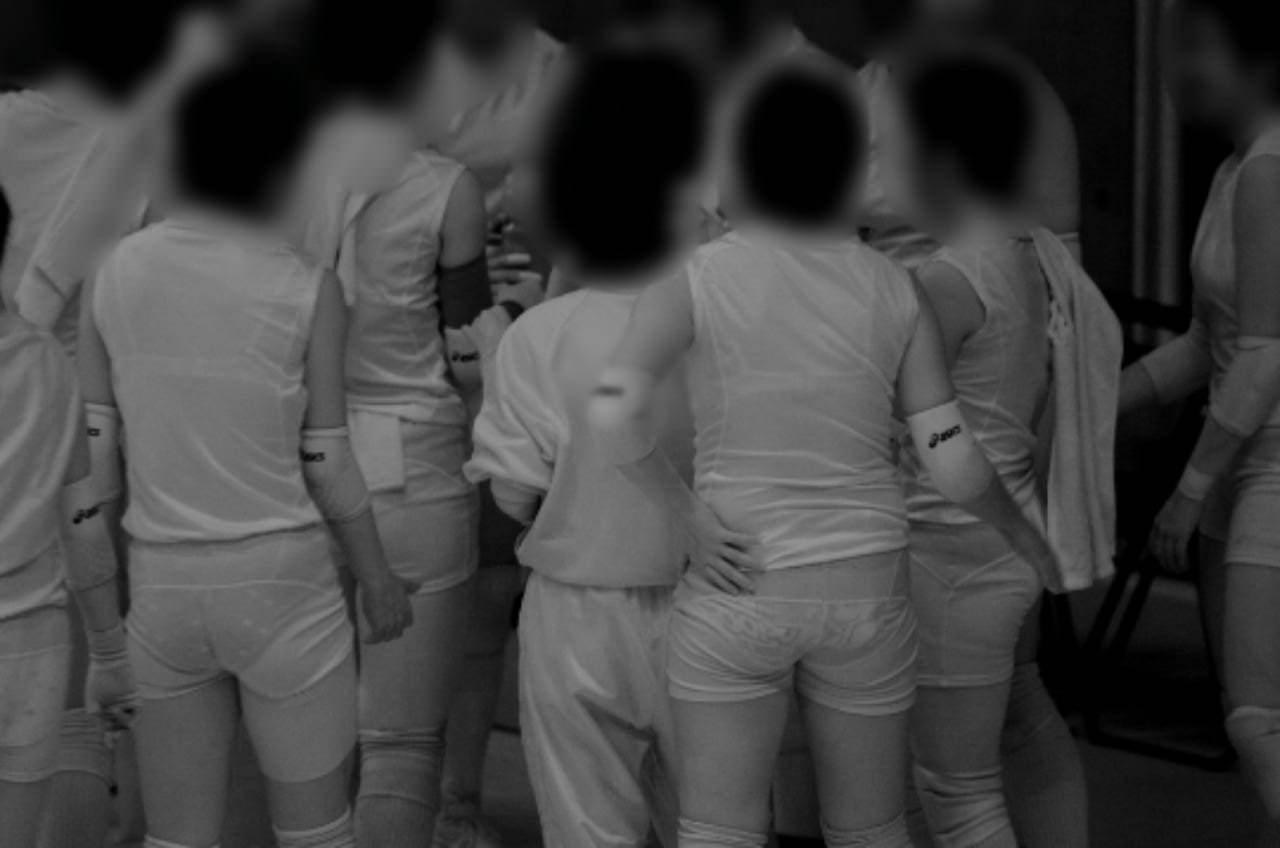 赤外線カメラ半端ない!!女子バレー選手のパンツとブラが透けまくってるスポーツ系エロ画像 3317