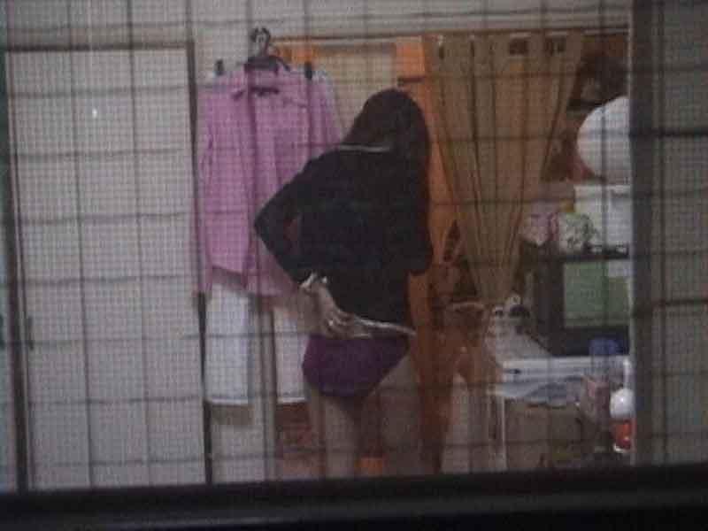 アパートや民家のお風呂をガチ盗撮した入浴女子の素人エロ画像 619