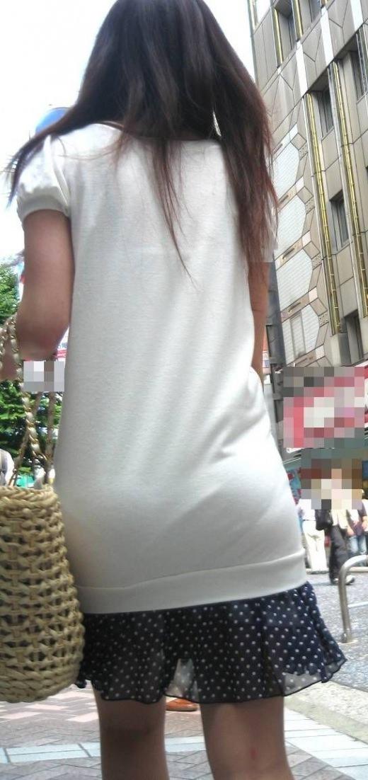 【盗撮画像】ブラが透けてるお姉さんを街撮りパシャリwwwwwwww 0739