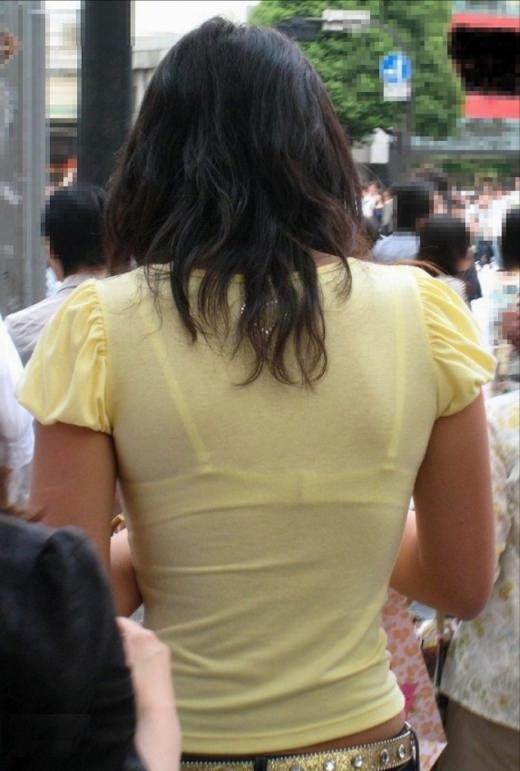 【盗撮画像】ブラが透けてるお姉さんを街撮りパシャリwwwwwwww 0743