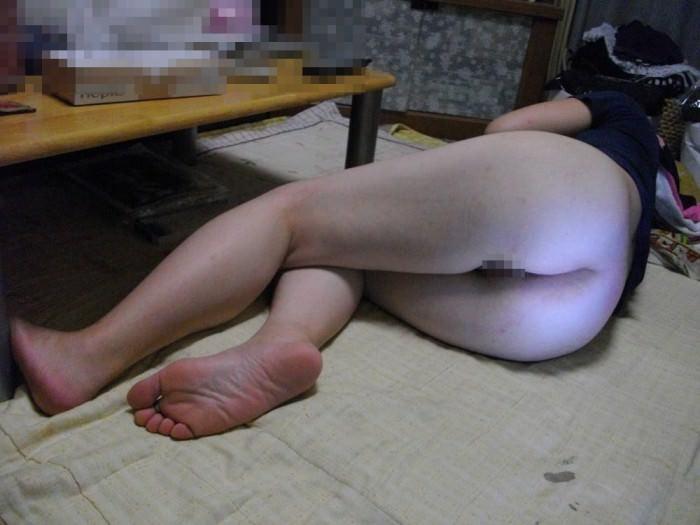 【素人画像】上半身だけ服来て寝てる彼女の生尻を勝手に撮影→ネット流出wwwwwwwwww 1167