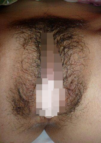 モッサリいろんな角度からマン毛を眺める素人のフェチ画像 31231