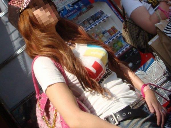 【素人流出】カジュアルにTシャツ来てるギャルが好きなやつwwwwwwwwwww thumb 20