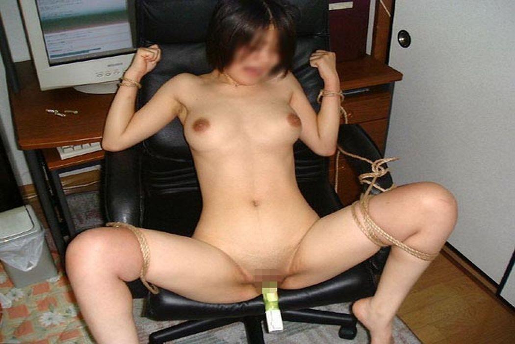 【熟女緊縛】縛るロープに肉が食い込むメス豚チャーシューをご覧ください。 0112