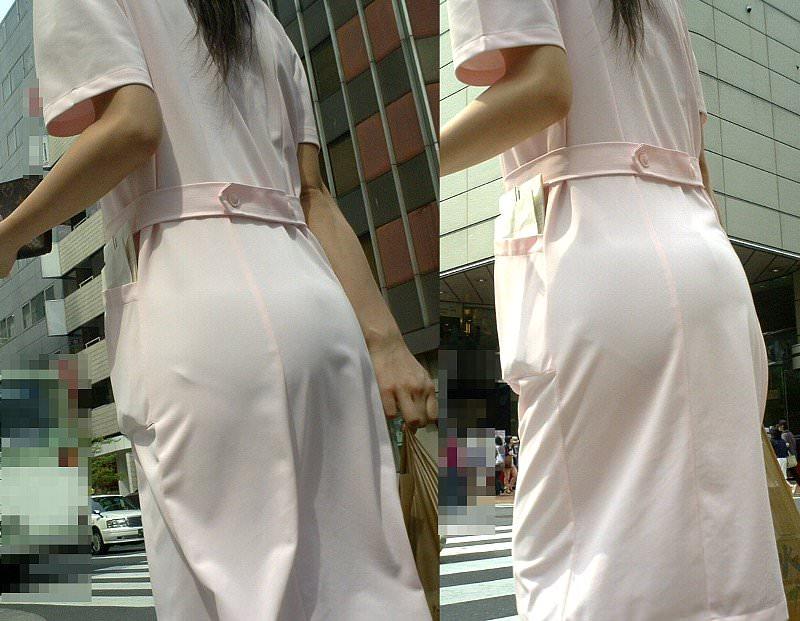 【盗撮23枚】パンティー透けてるのに気付いてない薄着女子を街撮りゲットwwwww 0137