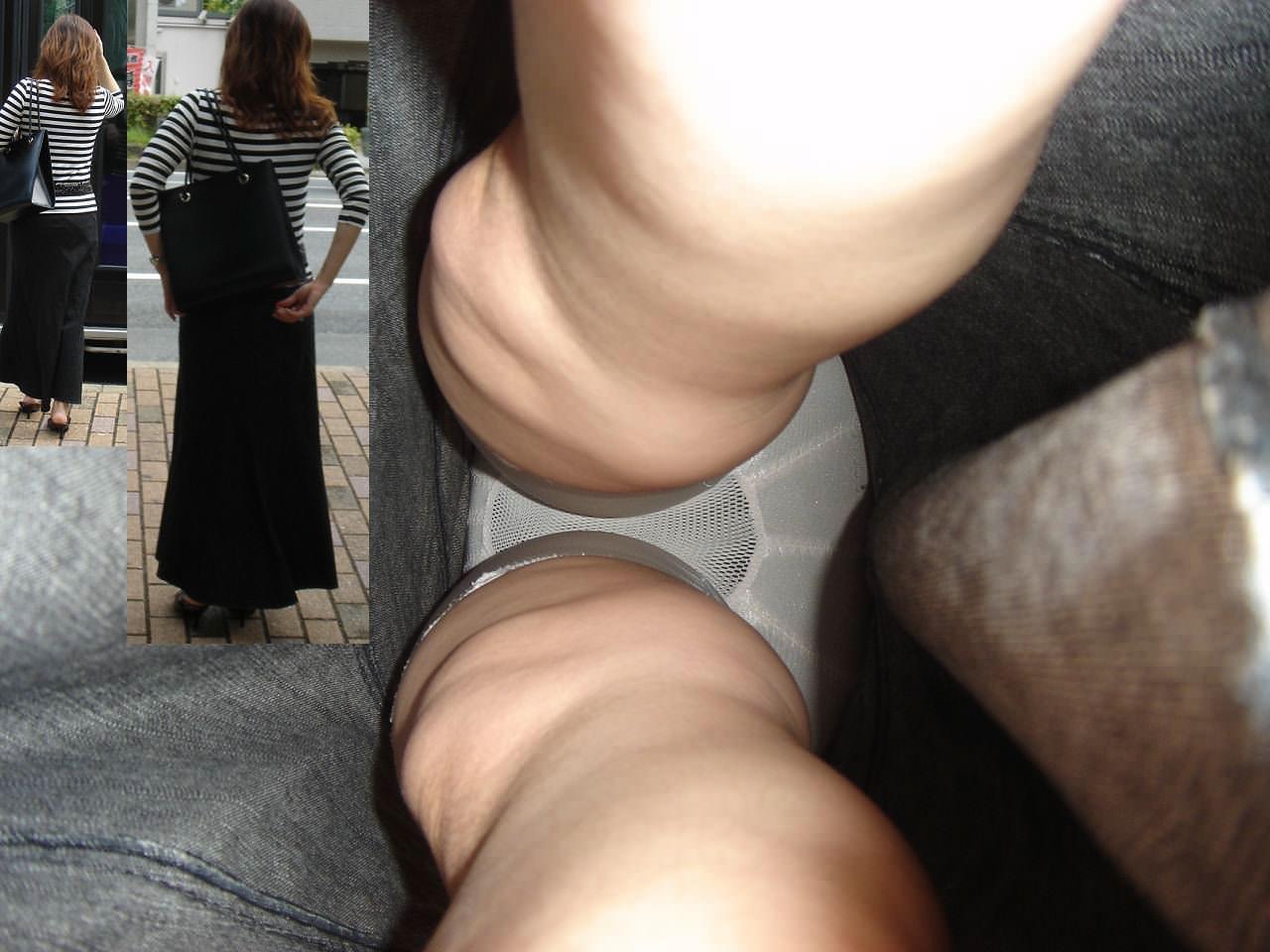 【素人盗撮】ガチで抜ける!!お姉さんの立ち姿と逆さパンチラが一緒になったするエロ画像 17...12