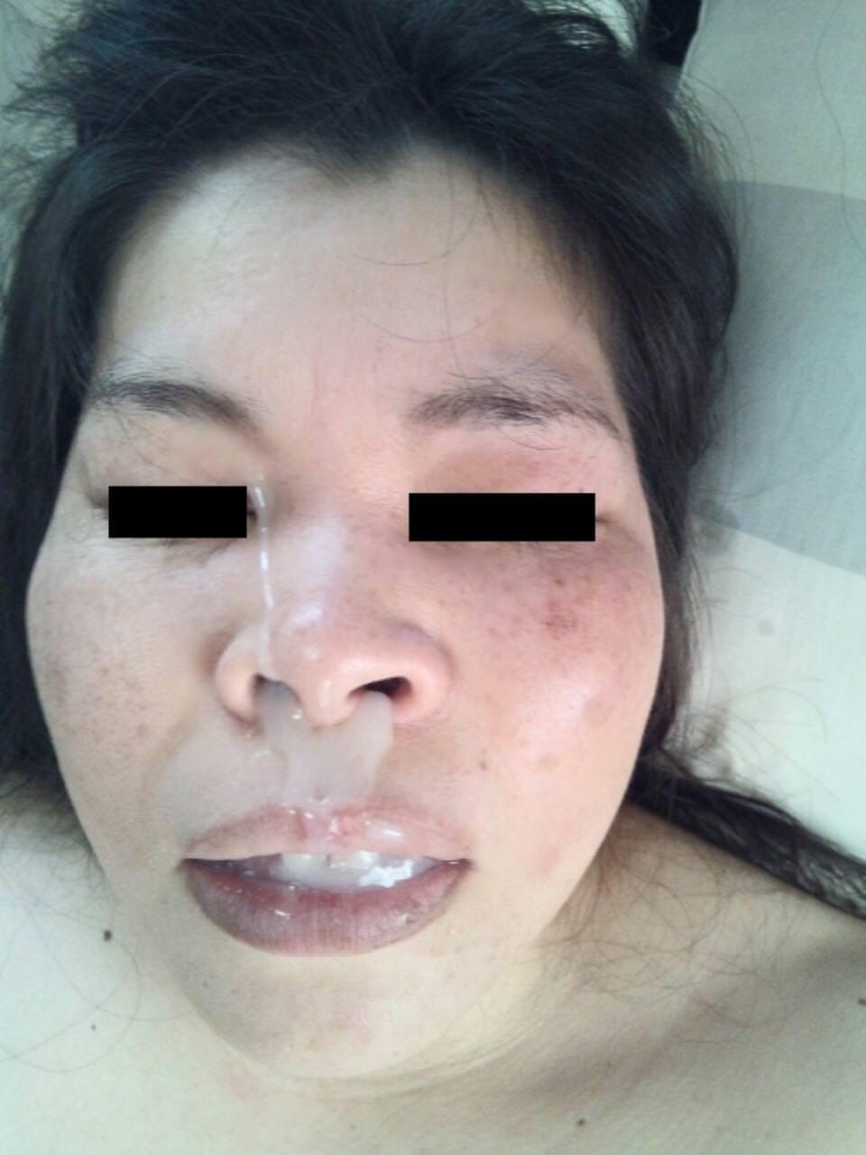 3日溜めたドロドロのザーメンを不倫してる素人妻に口内射精した結果wwwww 21145