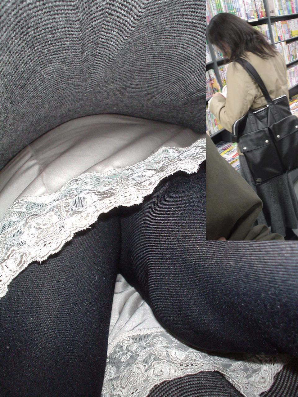 素人女子がロングスカートで絶対大丈夫とたかをくくった結果 → 余裕の逆さパンチラwwww 0662