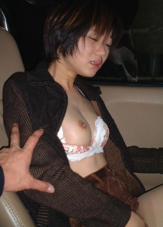 可愛い素人の女の子が片乳おっぱいだけ乳首見せてくれたラッキーショットwww 1706