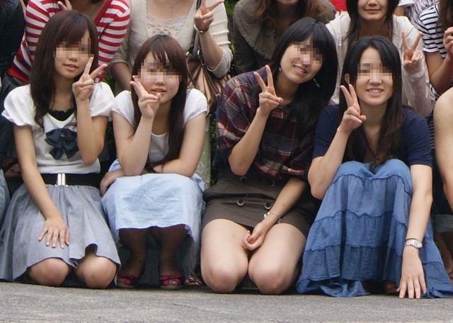 集合写真に写ってる女子校生・女子大生の中でどの女を犯したい!? 1106