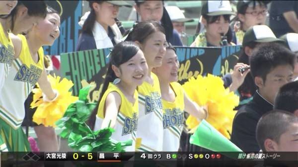 甲子園で応援するチアガールの脇とか太もものエロ画像wwwww 1249