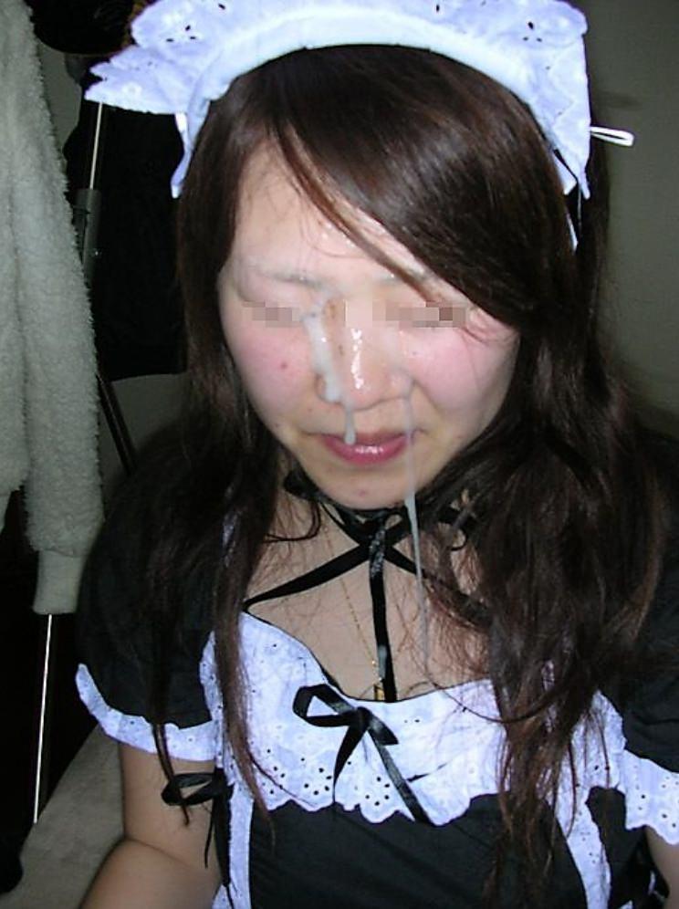 彼女の顔に精子ぶっかけると最高に気持ちwww顔射してるカップルって結構多いよなぁwww 0755