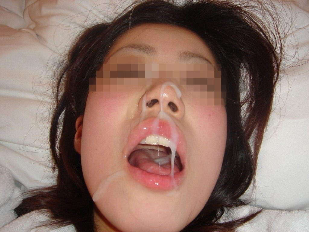 彼女の顔に精子ぶっかけると最高に気持ちwww顔射してるカップルって結構多いよなぁwww 0758