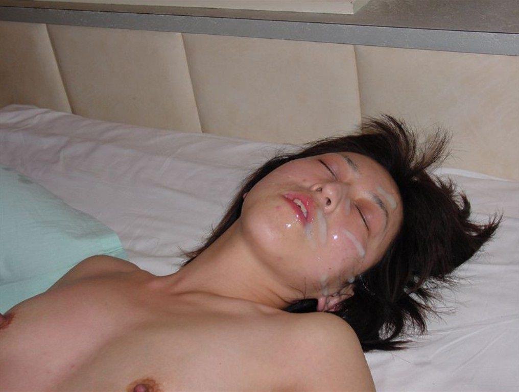 彼女の顔に精子ぶっかけると最高に気持ちwww顔射してるカップルって結構多いよなぁwww 0760