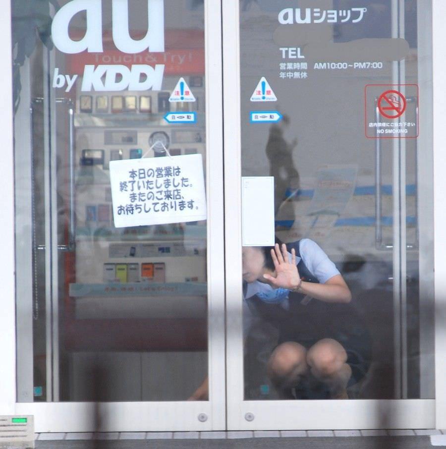 外回りで出会ったOLの街撮りパンチラを偶然盗撮www 1102